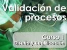 Curso de formación especializada: Validación de Procesos - Curso 1
