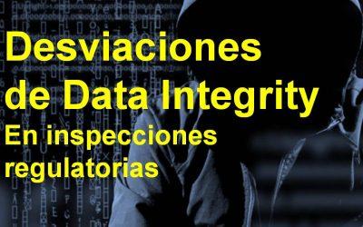 Desviaciones de Data Integrity en su implementación